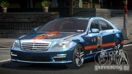 Mercedes-Benz S65 GST-R L7 для GTA 4