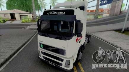 Volvo FH12 460 Girteka Logistics для GTA San Andreas
