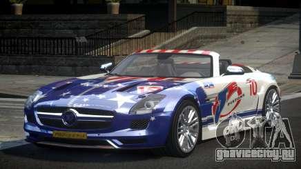 Mercedes-Benz SLS PSI-R L1 для GTA 4