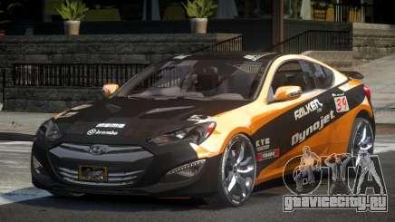 Hyundai Genesis GST Drift L5 для GTA 4