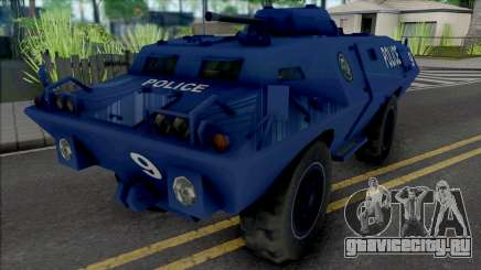 Improved S.W.A.T. Van для GTA San Andreas