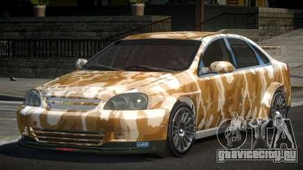 Chevrolet Lacetti SP-R L7 для GTA 4
