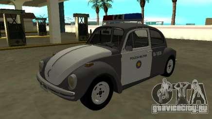Volkswagen Beetle 1994 Brigada Militar Paulista для GTA San Andreas