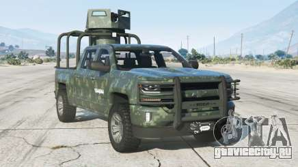 Chevrolet Cheyenne Armored Crew Cab 2017〡add-on v1.1 для GTA 5