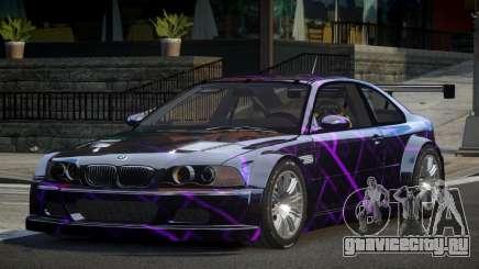 BMW M3 E46 GTR GS L2 для GTA 4