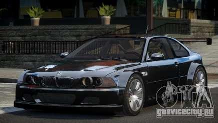 BMW M3 E46 GTR GS для GTA 4