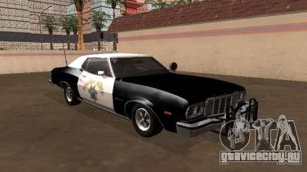 Ford Gran Torino 1979 California Highway Patrol для GTA San Andreas