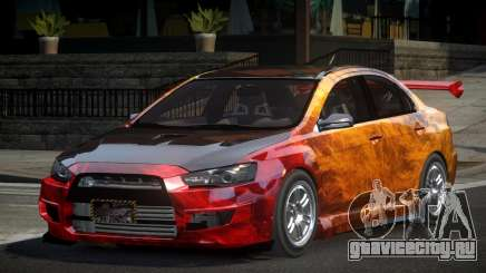 Mitsubishi Lancer X GST-R PJ4 для GTA 4