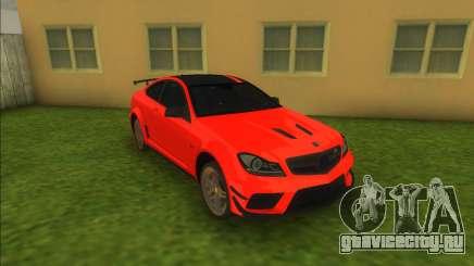Mercedes-Benz C63 AMG для GTA Vice City