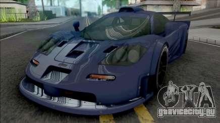 McLaren F1 GTR Longtail (SA Lights) для GTA San Andreas