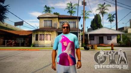 Camisa Ahri (LOL) для GTA San Andreas