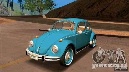 Volkswagen Beetle (Fusca) 1300 1974 - Brazil для GTA San Andreas