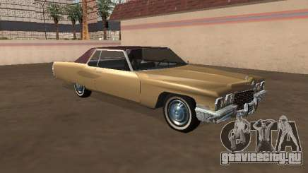 Cadillac DeVille 1972 Coupe для GTA San Andreas