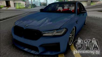 BMW M5 2021 Quantum Works для GTA San Andreas