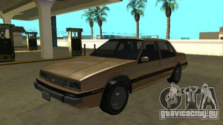 Chevrolet Cavalier 1988 sedan для GTA San Andreas