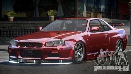 Nissan Skyline BNR34 BS V1.0 для GTA 4