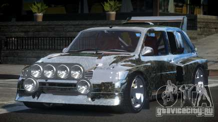 1987 Austin Metro GST-R PJ6 для GTA 4