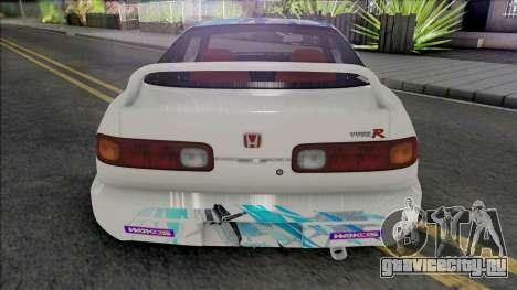 Honda Integra Type R (SA Lights) для GTA San Andreas