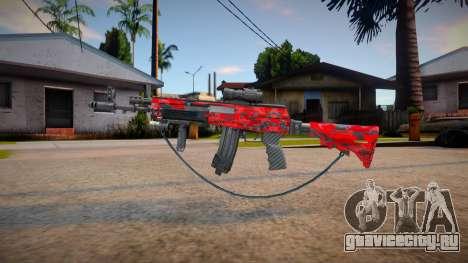 Ak12 estillo call of duty ( Marck_delta_Mods) для GTA San Andreas