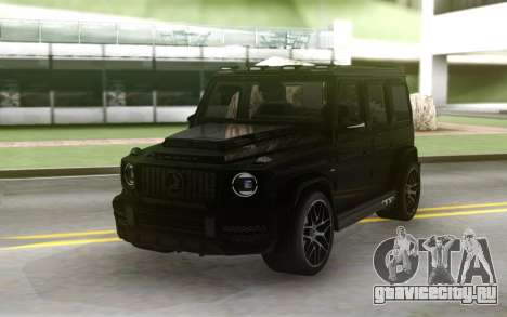 Mercedes-Benz G63 AMG Black Series для GTA San Andreas