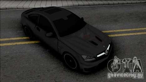Mercedes-Benz C63 AMG Edition 2014 (IVF Lights) для GTA San Andreas