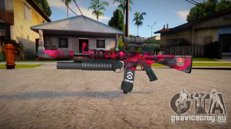 M4 Nuketow marck_delta для GTA San Andreas