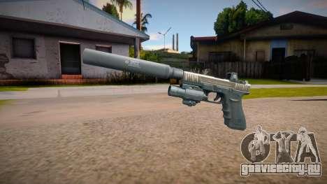 Glock-17 DevGru (Contract Wars) v2 для GTA San Andreas