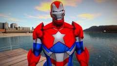 Marvel Future Fight - Iron Patriot (good skin) для GTA San Andreas