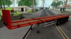 Trailer Flatbed 5 Axles для GTA San Andreas