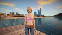 Marie Rose Casual v2 для GTA San Andreas