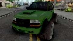 Chevrolet Blazer Lifted для GTA San Andreas