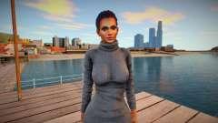 Lisa Hamilton Casual V для GTA San Andreas