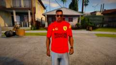Scuderia Ferrari T-Shirt для GTA San Andreas
