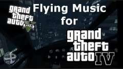GTA V Flying Music for GTA IV для GTA 4