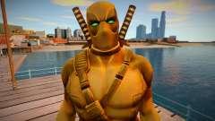 Deadpool Gold для GTA San Andreas