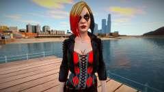 Harley Quinn (good textures) для GTA San Andreas