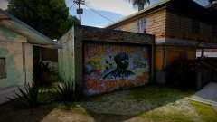 2Pac Graffiti для GTA San Andreas