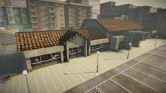 Кафе в стиле GTA IV для GTA San Andreas