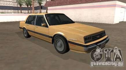 Chevrolet Celebrity 1984 Year для GTA San Andreas