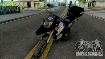 Honda XRE 300 2015 Police MG для GTA San Andreas