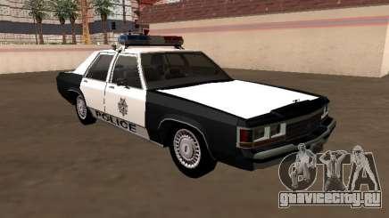 LTD Crown Victoria 1991 Las Vegas Metro Police для GTA San Andreas