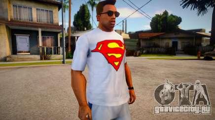 T-shirt Superman (good textures) для GTA San Andreas