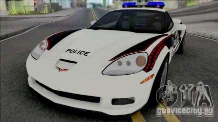 Chevrolet Corvette Z06 Bosnian Police Livery для GTA San Andreas
