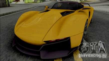 Rezvani Beast X 2016 для GTA San Andreas