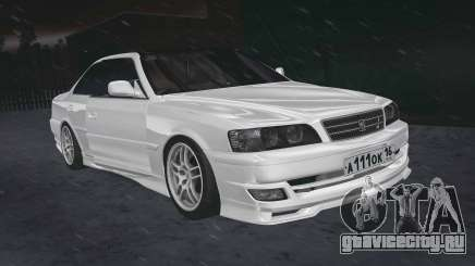 Toyota Chaser 100 RUS Plates для GTA San Andreas