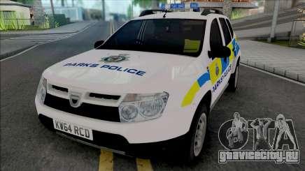 Dacia Duster Parks Police United Kingdom для GTA San Andreas