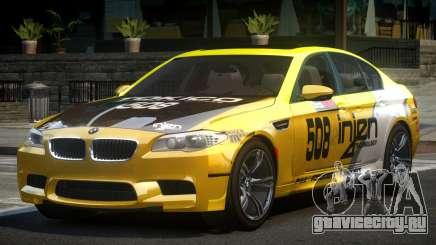 BMW M5 F10 PSI-R S10 для GTA 4