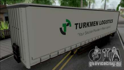 Trailer Turkmen Logistic для GTA San Andreas