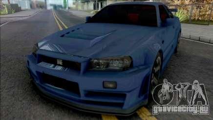 Nissan Skyline GT-R R34 Nismo Z-Tune 2005 [IVF] для GTA San Andreas