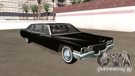 Cadillac DeVille Limousine 1972 для GTA San Andreas
